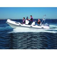 520cm Orca Hypalon tender   big width  inflatable rib boat  rib520A with sunbed center console rear cabin CE certificate