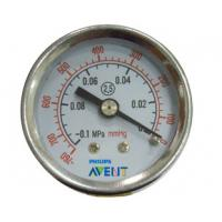 Pneumatic System Components Panel Mounting Air Pressure Gauge Manometer 40mm,50mm,63mm Manufactures