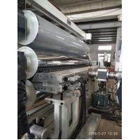 Customized PVC Extruder Single Screw Waterproof Sheet / Geomembrane Machine Manufactures