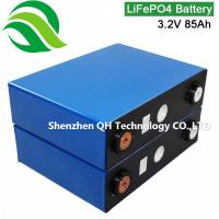 UN38.3 and MSDS approved 10 years for solar home energy system Trailer caravan 3.2V 86Ah LiFePO4 Batteries Cell Manufactures