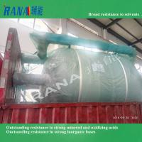 Professional Factory directly sale 55 cubic steel lining PTFE/ PFA/ ETFE chemical storage tank and vessel Manufactures