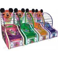 China Children Basketball Arcade Game Lottery Redemption Game Machine Indoor Mickey Type on sale