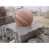sunset red marble water fountain Manufactures