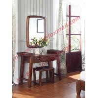 Modern Solid Wooden Dresser with Mirror in Luxury Bedroom Furniture Manufactures