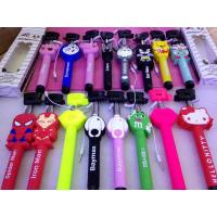 Buy cheap TOP selling Colorful Cartoon Selfie Stick,Cartoon Monopod for mobile phone from wholesalers