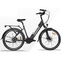 China Lithium Battery 26 Inch City Electric Bicycle / E - bike With Rear Motor For Adults on sale