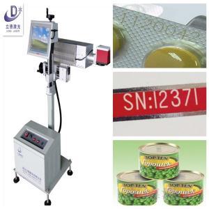 Stainless Steel Laser Marking Machine , Aluminum Laser Engraving Machine Manufactures
