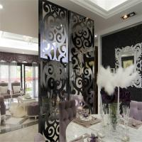 Laser Cutting Stainless Steel Screen Design for interior wall decorative panel customized design Manufactures