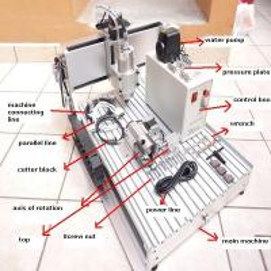 AMAN3040 mini cnc 3d router machine supplier Manufactures