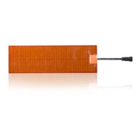 China Flexible Polyimide Film 10*10mm 400V Car Battery Heating Pad on sale