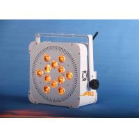 12 x 18w  UV 6 in 1 Battery Spot Light Long Life For Wedding / Store Manufactures