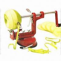 Apple Peeler and Cutter, Easy to Operate and Clean, Also Great for Pears and Potatoes