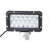 Super Bright 24W 8 Inch Waterproof Aluminum Boat Led Work Light Marine Yacht Work Light Manufactures