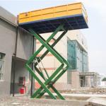 China Tavol General Industrial 3 ton hydraulic goods platform scissor lift Manufactures