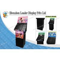 China 4C Color Recycled POS CD / DVD Display Stands With 4 Shelves for Promotion on sale