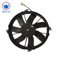 12 Inch Bus Spare Auto Parts 24 Volt DC Air Conditioner Radiator Fan Manufactures