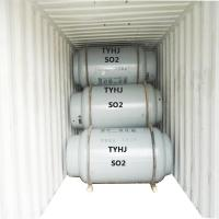 40l 50l 800l Cylinder Specialty Gases , 99.9% Liquid Sulfur Dioxide Gas Manufactures