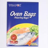 House Hold Use Clear Oven Plastic Bags , Microwave Cooking Bags For Meat Manufactures