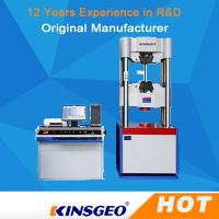 Buy cheap 750mm Computer Servo Hydraulic Universal Testing Machine For Metallurgy with One Year Warranty from wholesalers