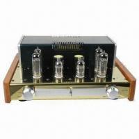 China Vacuum-tube Amplifier, Expert EL84/6P14 x 4 Pieces with Hi-End Power Supply on sale