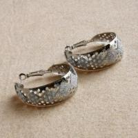 Fashion Jewelry Hollow Out Earrings for Women, New Elegant Alloy, China Jewelry Manufactory Manufactures