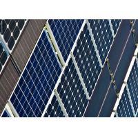 China Lightweight B Grade Solar Panels Aesthetic Appearance With MC4 Connector on sale