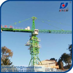 QTZ125 Crane Counterweight Tower Crane TC5023 50M Jib 10t Load Manufactures
