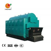 China Industrial Fixed Grate Wood Chip Steam Boiler Three Pass For Medicine Industry on sale