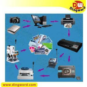China PVC Card maker, plastic card making kit,ID card maker on sale
