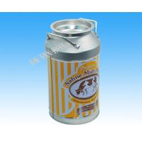 D84 Milk Bottle Shaped Metal Tin Packaging Box Storage For Christmas Holiday Manufactures
