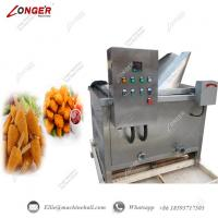 Buy cheap Fruit And Vegetable Chips Frying Machine Chicken Frying Machine Automatic Fryer from wholesalers