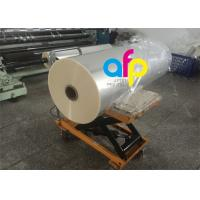China One Side Corona Treatment Glossy Laminating Film / BOPP Cold Laminating Film on sale