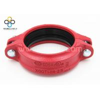 CCC FM UL Good quality Rigid Coupling Ductile iron grooved fittings Manufactures
