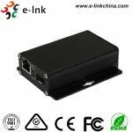 Entry-level Industrial 10 / 100/1000Base-TX to 1000Base-FX SFP Ethernet Media Converter Manufactures