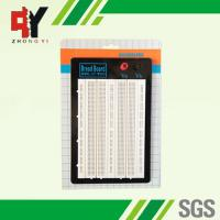 White ABS Metal Reed Test Breadboard Electronics 1580 Tie - Point Universal Printed Circuit Board Manufactures