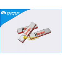Plastic Foil Wrapping Paper For Chocolate Bar , Homemade Chocolate Packing Material Manufactures