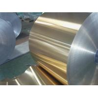 China Coloured Rolled Aluminium Sheet , Painted Aluminum Coil For Cooling Exchanger on sale