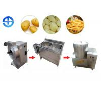 Multipurpose Semi Automatic Potato Chips Making Machine Small Scale 50kg Manufactures
