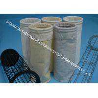 Good Air Permeability Industrial Dust Collector Bags With PTFE Surface Coating Treatment Manufactures