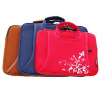 China Red,cheap,quick delivery and convenient neoprene laptop bag on sale