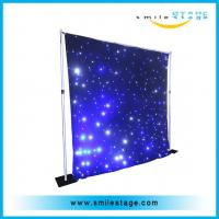 china newest product colorfulled star curtain for wedding /big commercial Manufactures