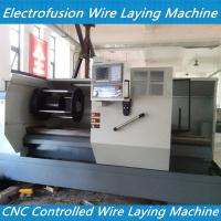 cnc controlled tapping tee electrofusion fitting wire laying machine ELECTRO-FUSION FITTIN