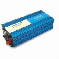 1,500W Pure Sine Wave Power/Car Inverter, 50 or 60Hz Frequency, 3,000W Surge Power Manufactures
