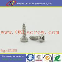 Stainless Steel Triangle Recess Pan Head Self Tapping Screws Manufactures