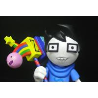 Glasses Boy Custom Action Figures Home Decoration With A Colourful Chopper Manufactures