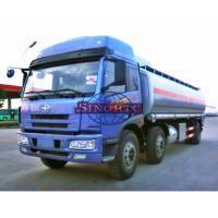 20 - 28 Tons Heavy Duty Fuel Carrier Truck, Gasoline / Liquid Chemical Tanker Truck Manufactures