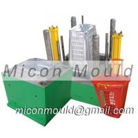 China big plastic laundry basket household commodity injection mould on sale