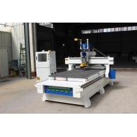 China Woodworking CNC Router Wood Carving Machine , Cnc Sculpture Machine Air Cooling Spindle on sale