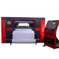 Large Automatic T Shirt Printing Machine CNC CO2 300 Watt For Clothing Manufactures