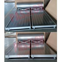 304 Stainless Steel Pressurized Solar Water Heater with Blue Flat Solar Collector Manufactures